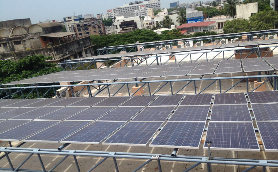 100 KWP CPWD ITO <br> IN 2014 We Energised